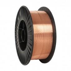 Проволока Св08Г2С-О омедненная  Ø0,8 мм (5кг)