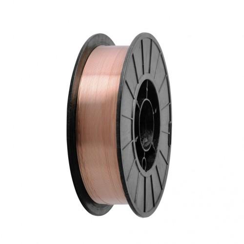 Проволока сварочная омедненная ER70S-6 КНP Ø1,0 мм (5кг)