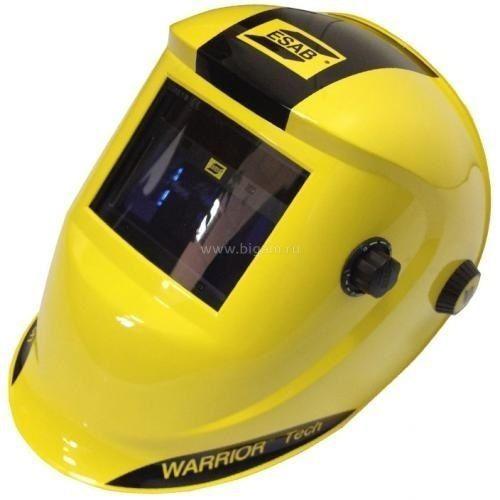 Маска сварщика WARRIOR Tech 9-13 Yellow