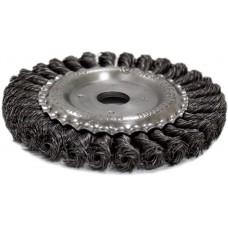 Щітка кільцева NovoTools, плетена сталь, 100х22,2 мм